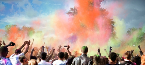 Could an explosion of colour reinvigorate your workplace?