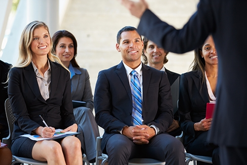 Do you struggle to assert yourself when speaking to a crowd? These tips can help.